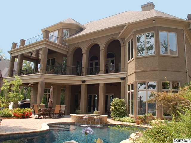 The point mooresville homes for sale lake norman lake for Seafront homes