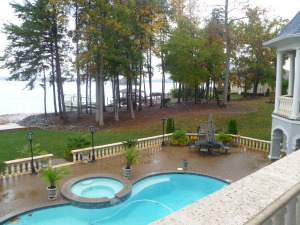 Lake norman waterfront homes on 1 acre w in ground pool Underground swimming pools for sale