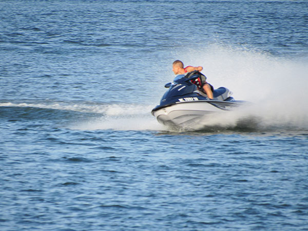 Lake norman Jet ski ride